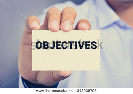 Objective On Business Card