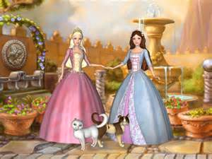 theme barbie as the princess and the pauper pc game