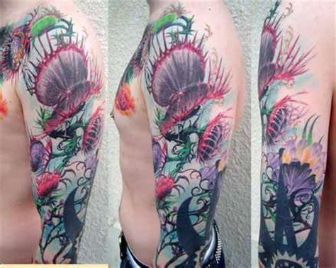 venus flytrap tattoo venus flytrap by tom strom tattoonow