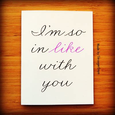valentines day card for new relationship new relationship card i m so in like with you by strangerdays