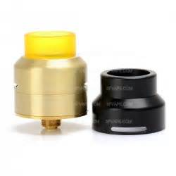 528 Goon Lp 22 Rda Atomizer Black Clone sjmy split atty style rta 2ml 22mm silver rebuildable tank atomizer
