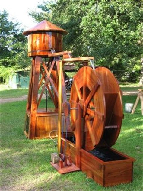 backyard water tower 49 best images about water wheel on pinterest gardens
