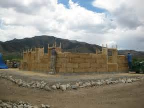 straw bale house a four person barn raising