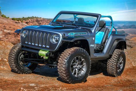 jeep concept cars jeep reveals seven concept cars for easter jeep safari