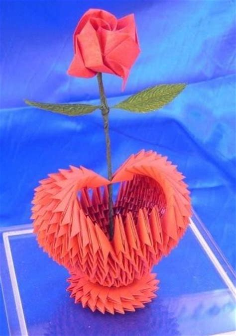 3d Hearts Origami - 116 best images about 3d origami d on origami