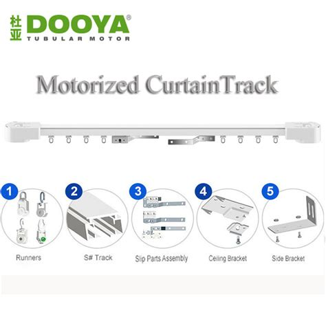 remote control curtain track dooya electric super quiet ٩ ۶ motorized motorized