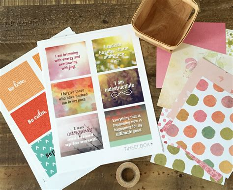 Affirmation Card Templates by Printable Affirmation Cards Per Your Self Esteem
