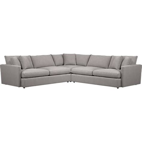 lounge sectional crate and barrel 17 best images about sofas and sectionals on pinterest