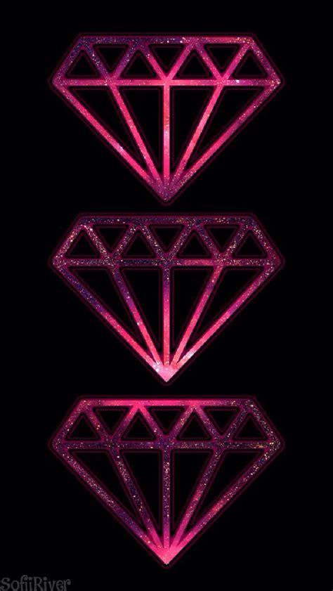 wallpaper tumblr diamond 3 diamonds iphone wallpaper walpaper pinterest
