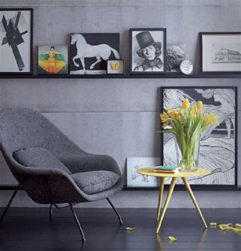 mensola per quadri come arredare la casa con i quadri senza essere kitsch