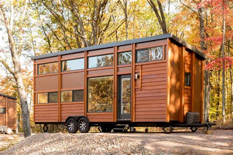 micro house tiny house village by escape opens in the midwest curbed