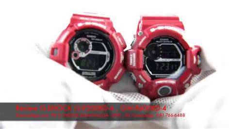 Casio Gshock Gw 9400rd 4dr review casio g shock g 9300rd 4 gw 9400rd 4 limited