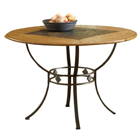 Hillsdale Furniture Round Dining Table With Shelf Shop Sears Furniture Kitchen Tables