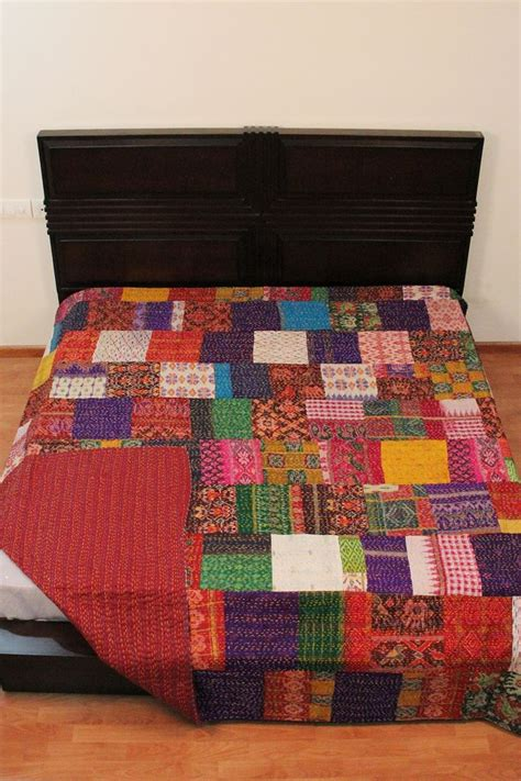 Patchwork Throws For Beds - 19 best ideas about kantha bed throws bed spread on