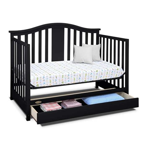 Graco Solano 4 In 1 Convertible Crib With Drawer In Graco Espresso Convertible Crib