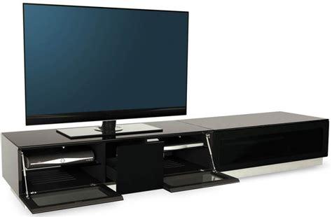 frosted glass tv cabinet buy alphason element black tv cabinet emtmod2100 blk