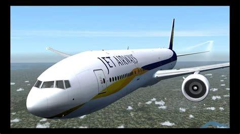 777300er jet airways mumbai hong kong youtube