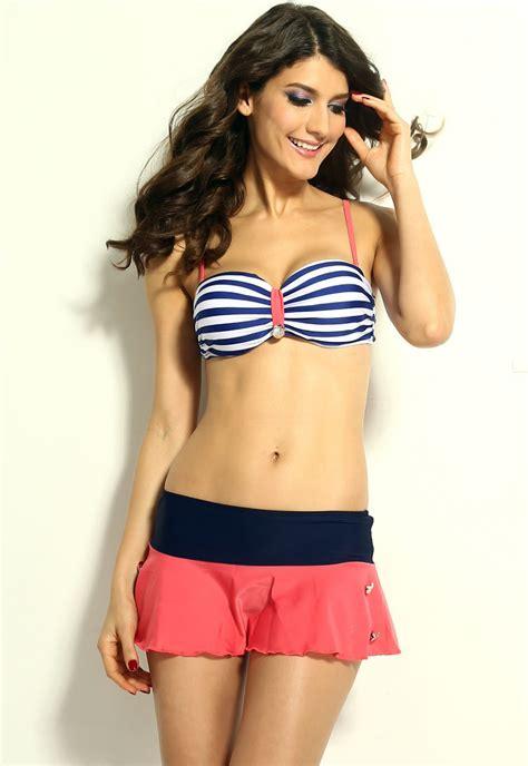 Retro Inspired Bikinis by Bathing Suit Vintage Style Retro Nautical Style