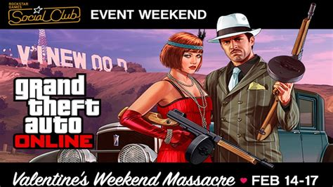 gta v valentines dlc gta 5 event weekend 1 000 000 contest s