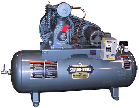 saylor beall horizontal 5hp 80 gallon air compressor free shipping