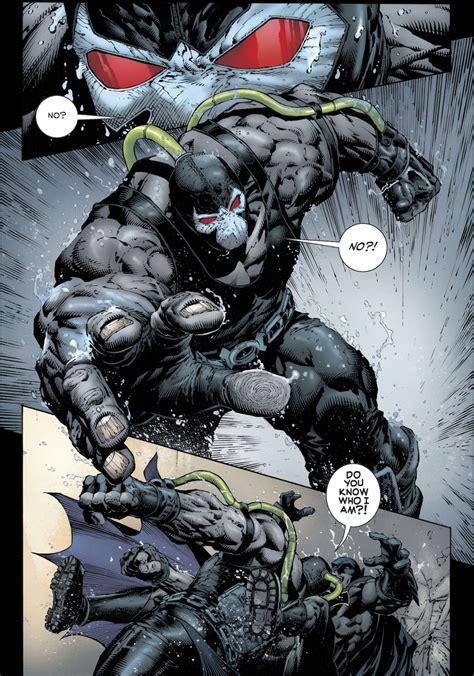 Batman Bane bane vs batman rebirth comicnewbies