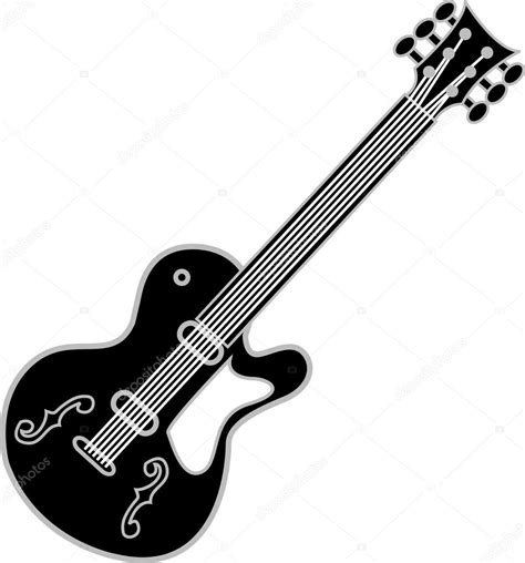 imagenes de guitarras blanco y negro black and white guitar over a white background stock