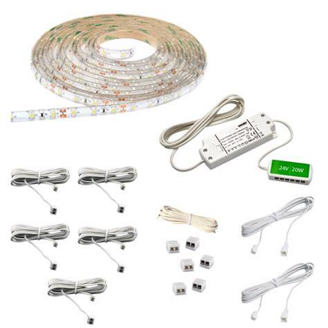 16 ft led light strip sensio 16 4 ft led warm white flexible strip light kit