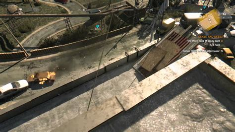 Dying Light Cease And Desist Find Three Cans Of Spray