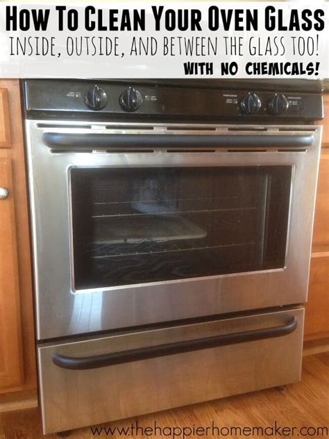 how to clean your oven naturally vintage cleaning tip how to clean oven glass inside outside and in between