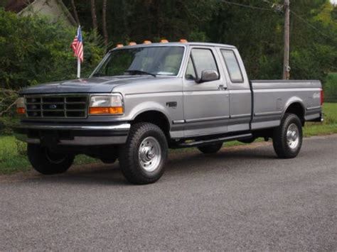 auto air conditioning service 1995 ford f250 navigation system purchase used 95 ford f 250 xlt x cab 2dr 7 3l 5spd 4x4 only 94k miles 2 owners five new tires