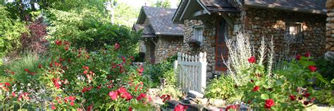 rock cottage gardens eureka springs arkansas the
