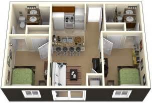 two bedroom home one bedroom house plans 3d search small house