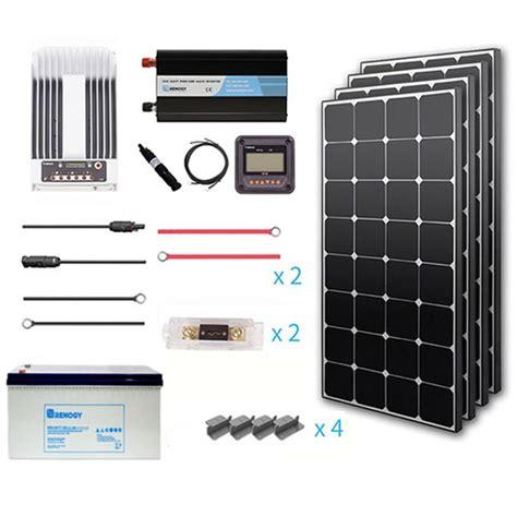Kit Driver Power Lifier Mono 400 Watt 1000 Watt renogy 400 watt eclipse grid complete kit with mono inverter charge controller premium400