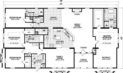 live oak mobile homes floor plans 25 best ideas about triple wide mobile homes on pinterest