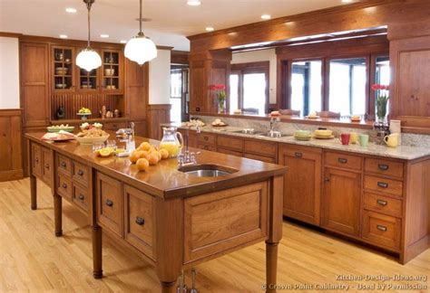 Furniture Style Kitchen Cabinets | pictures of kitchens traditional light wood kitchen