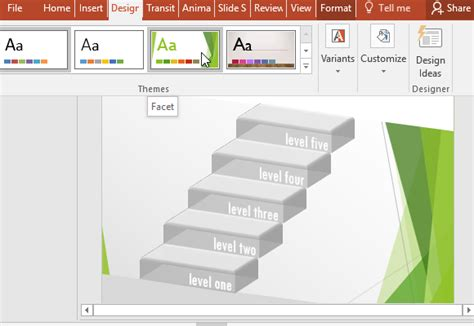 powerpoint matching template free transparent 3d stairs diagram for powerpoint
