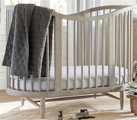 oval baby cribs oval crib conversion kit pottery barn