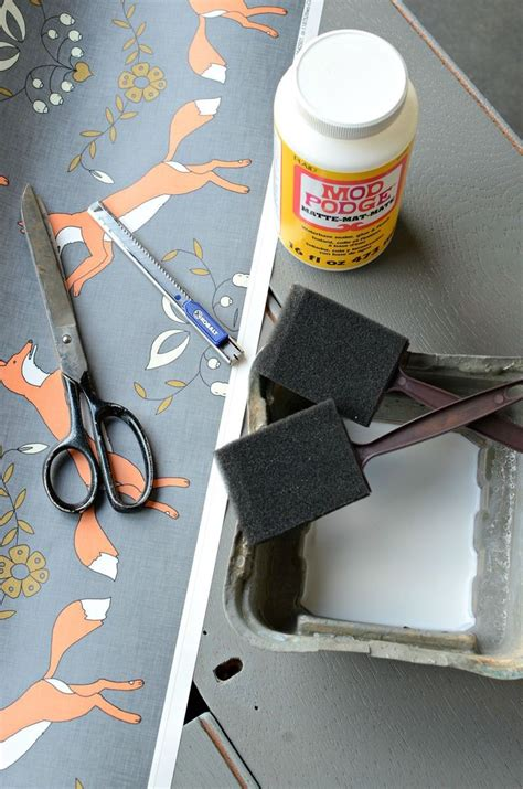 how to decoupage furniture with mod podge 17 best ideas about how to decoupage furniture on
