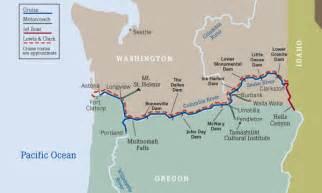 columbia river oregon map columbia river cruises maps