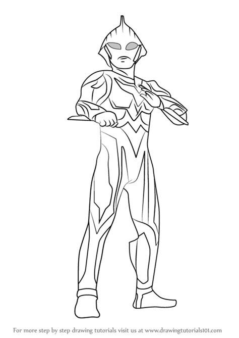 Mewarnai Gambar Ultraman Belial - Download Kumpulan Gambar