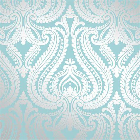 i love wallpaper shimmer damask metallic feature wallpaper