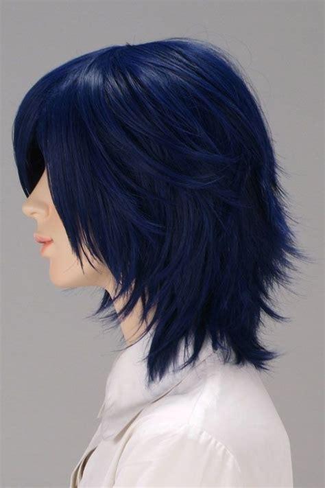navy hair color navy blue hair this but shorter hair hair