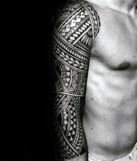 detailed tribal tattoos 70 sick tribal tattoos for cool masculine design ideas