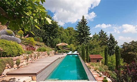 pool im garten einbauen die ruhe des gartens pool magazin