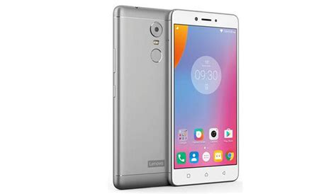 Lenovo K6 Power Lenovo K6 Power Smartphones With Metal Unibody Design