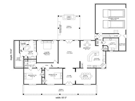 handicap floor plans handicap accessible home plans 3 bedroom one story house