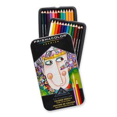 artist quality colored pencils prismacolor professional thick lead pencils assorted