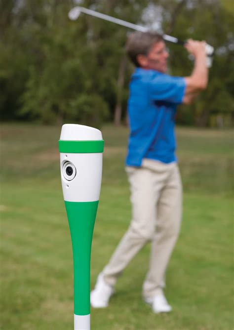 Use This Golf Club Sized Camera To Record Your Golf Swing