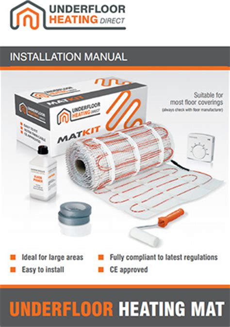 underfloor heating mat installation guide 28 images