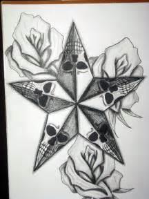 stars and roses tattoo designs cool tattoos bonbaden